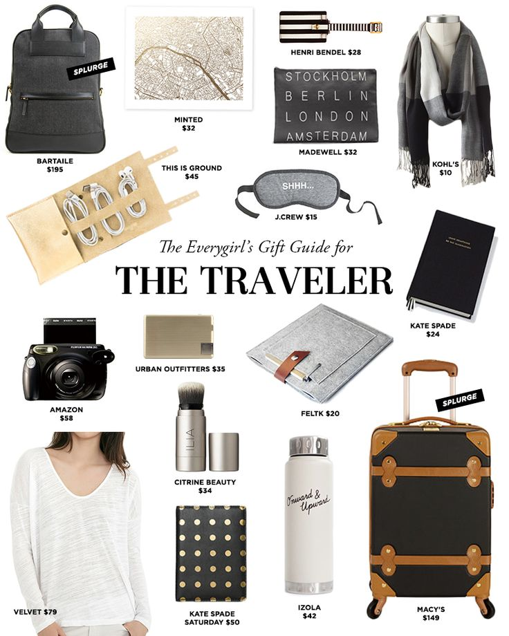 The Everygirl's 2014 Holiday Gift Guide for The Traveler #theeverygirl