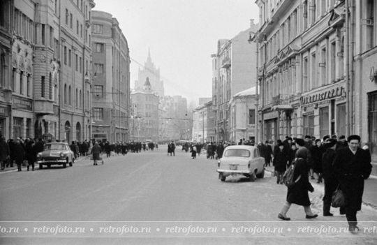 Старый Арбат. 1960-е…