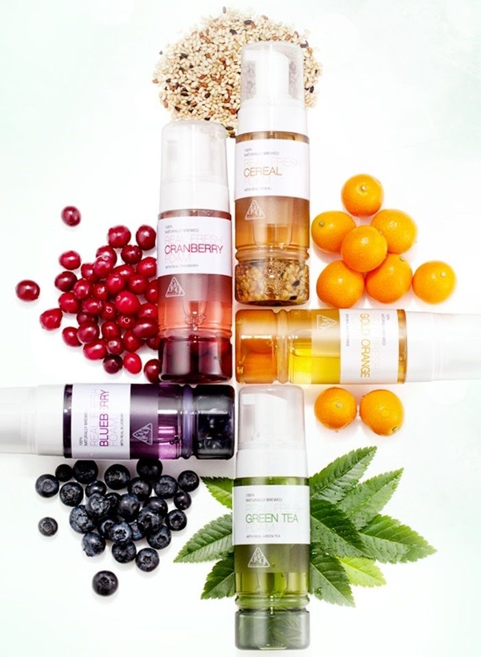 NEOGEN Foaming Cleanser with fermented ingredients, like cranberries and green tea, that are great for skin.