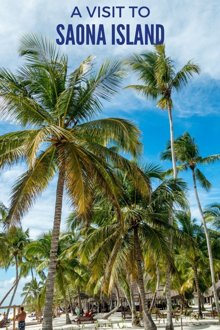 A visit to Saona Island, Dominican Republic, is a great day trip from Punta Cana. It's full of sun, palm trees, and relaxation.