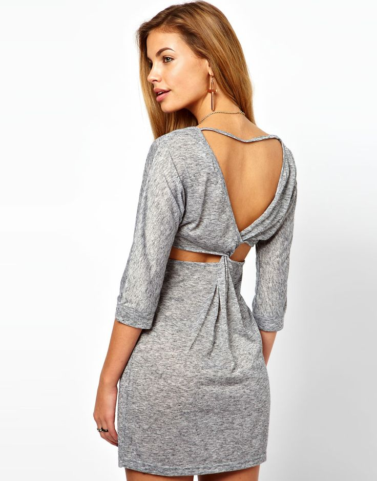 Mini Dress with Open Back