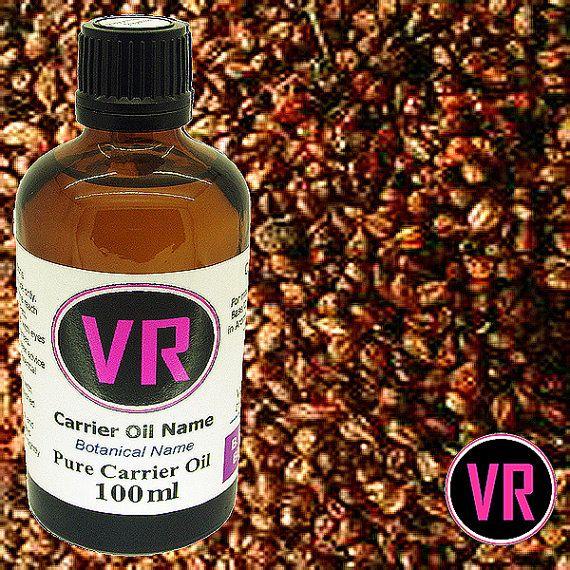 100ml Grapeseed Vitis vinifera Carrier Oil by VandaRoseAroma