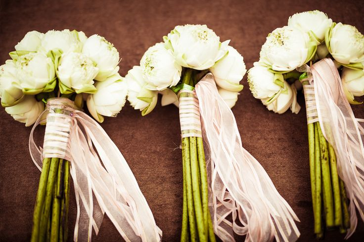 White Lotus Bouquets