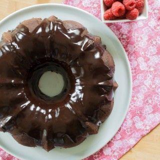 Chocolate-Raspberry Bundt Cake