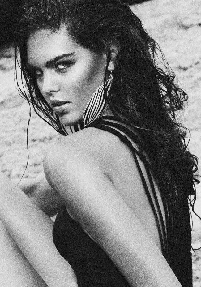 Mieke #Bossmodels #photo by #LinneaFrank #swimsuit #photoshoot #Southafrica #Capetown #beach