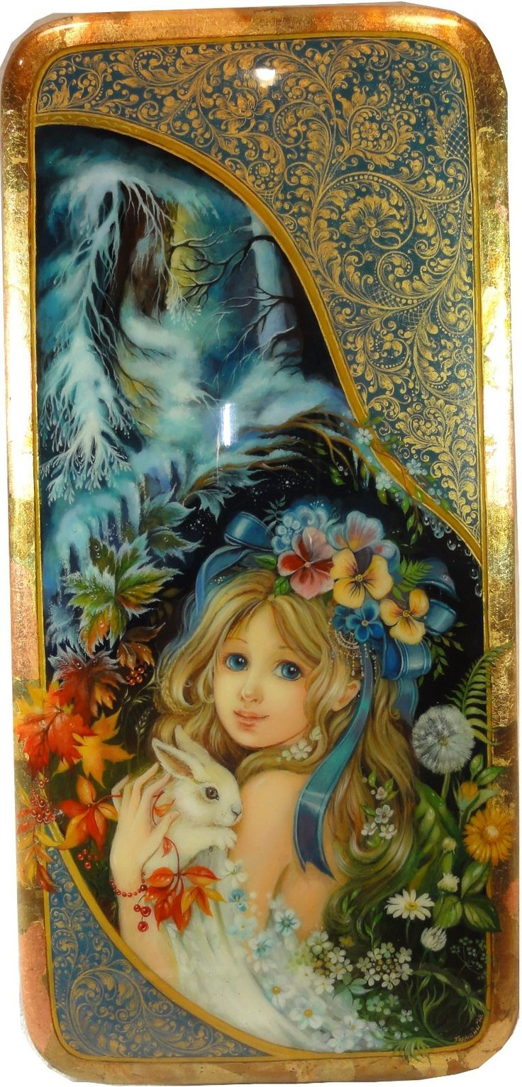 """""""Girl with Bunny"""" by Germann"""