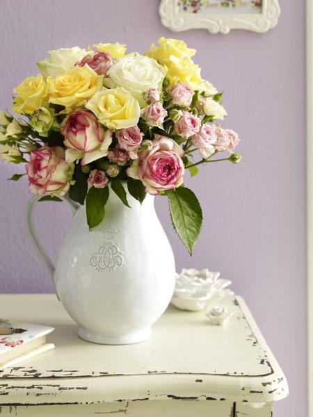 21 besten Hochzeit Rosen Bilder auf Pinterest Kränze - rose aus stein deko