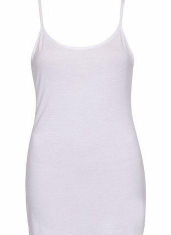 Purple Hanger Womens New Plain Sleeveless Ladies Stretch Round Scoop Neckline Long Strappy T-Shirt Camisole Vest T <br/><br/>Ladies new strappy vest.<br/>Sleeveless with a round scoop neckline.<br/>Slim shoulder straps.<br/>Soft stretch fabric.<br/> (Barcode EAN = 5055702789055) http://www.comparestoreprices.co.uk//purple-hanger-womens-new-plain-sleeveless-ladies-stretch-round-scoop-neckline-long-strappy-t-shirt-camisole-vest-t.asp