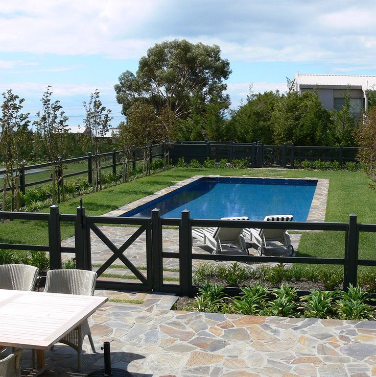 81 best pool images on Pinterest | Swimming pools, Landscaping and ...
