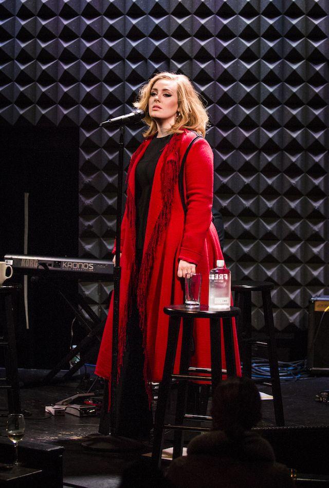 Adele live at Joe's Pub on iHeartRadio, 11/20/15