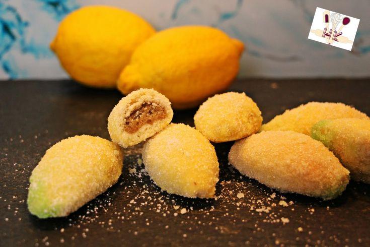 """""""Lažni Limunčići"""" - punjeni kolačići s mirisom limuna"""