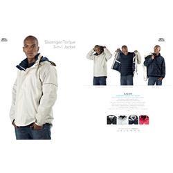 Branded Slazenger Torque 3-In-1 Jacket | Corporate Logo Slazenger Torque 3-In-1 Jacket | Corporate Clothing