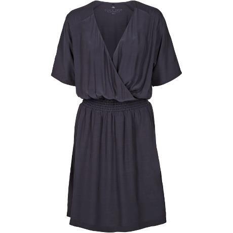 Jiggy dress. Beautiful dress with elastic waistband and wrap effect.
