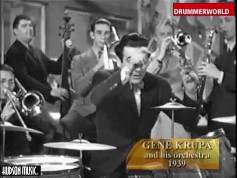Gene Krupa & His Orchestra: The Brush Drum Solo - 1939