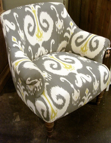 With a punch of color (a great accent pillow or throw?) this could be perfect with the Otter sofa