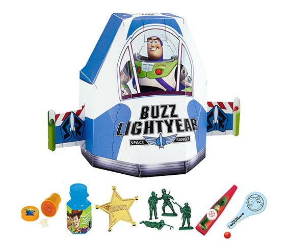 TOY STORY PARTY BAG:  • Toy Story Stamp  • Toy Story Bubbles  • Toy Story Sheriff Badge  • Toy Story Soldiers  • Toy Story Kazoo  • Toy Story Paddle