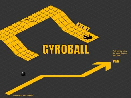 The Best Old Retro Games online - Gyroball & Marble Madness
