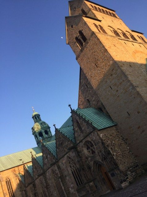 Kirche in #Hildesheim. UNESCO Weltkulturerbe.
