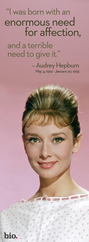 Audrey Hepburn  - A Life In Full Circle