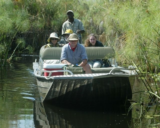 Vumbura Plains Camp offers both land and water activities  http://www.africanwelcome.com/botswana/botswana-private-game-lodges/vumbura-plains-camp-botswana