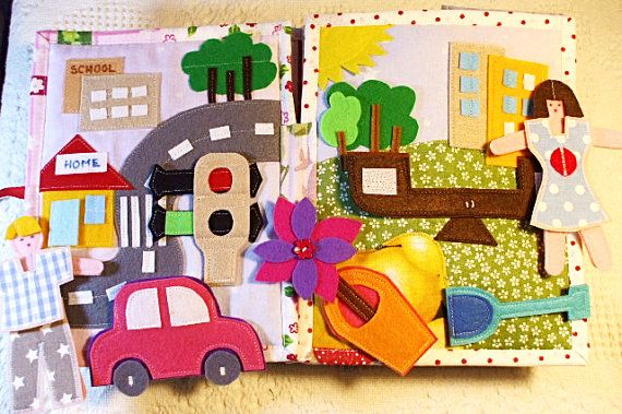 quiet book funny soft book for boys and girls first by lenaquilt