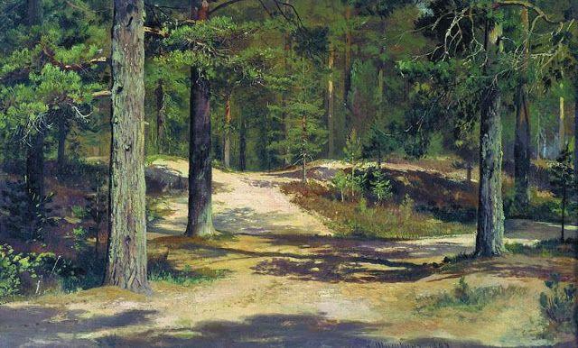 Πεύκα. (1889)