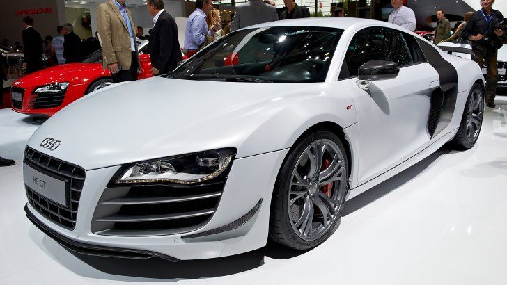 Click visit to take the full quiz! This high-end supercar redefined Audi when it was first produced in 2005. The Audi R8 is the carmaker's most expensive and fastest car. -- Answer: R8 -- #Cars
