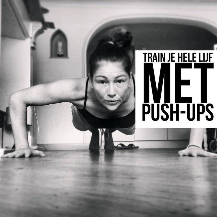 Welke spieren train je met push-ups?