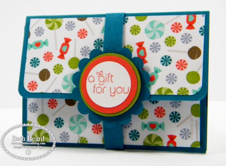 My little craft blog: Pop-Up Gift Card Holder & Video