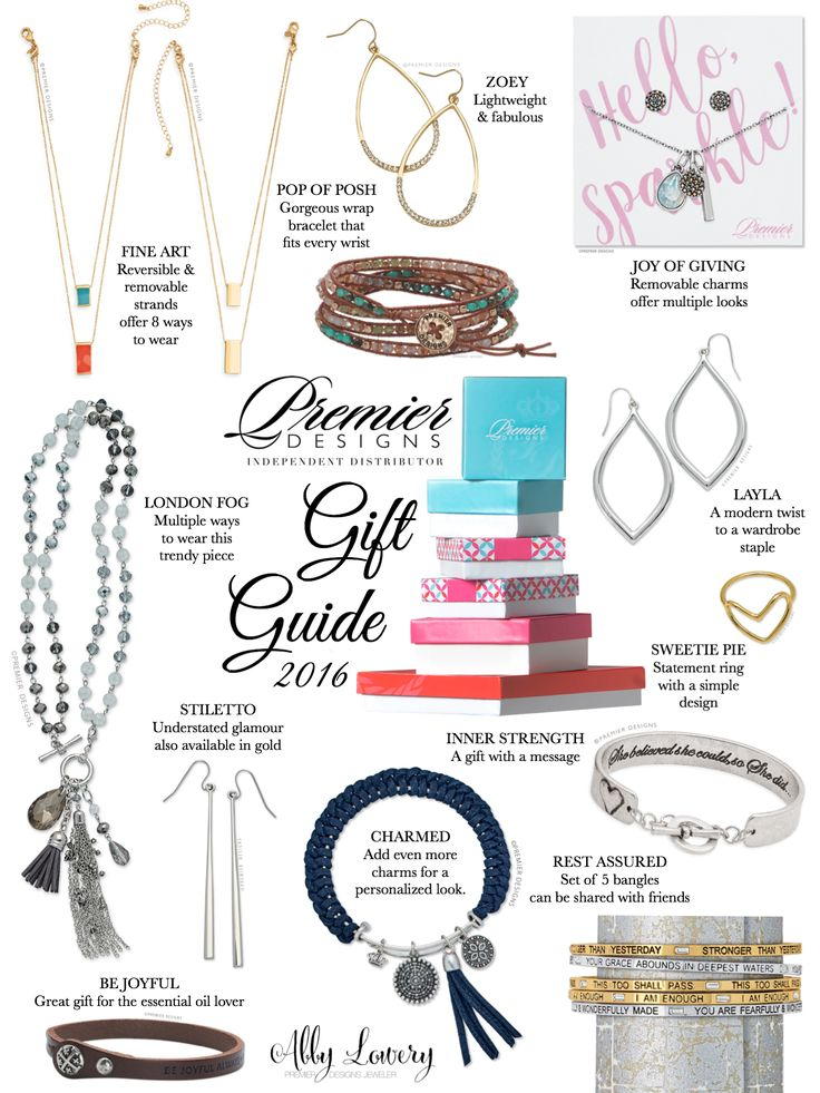 You've been waiting for it! Here's my 2016 Premier Designs Gift Guide. See our…