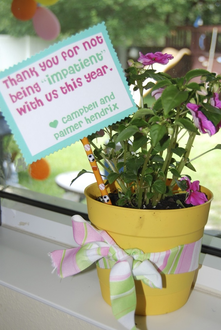 Impatient Teacher gift- great for the end of year gift ...