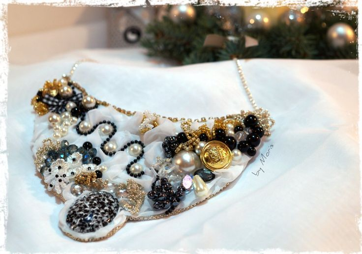 Necklace for Christmas - opulently:)