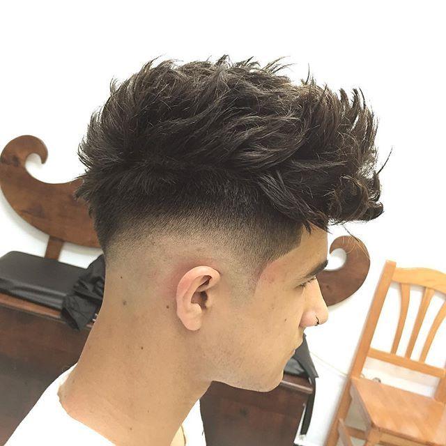 Love the fade. #menshair #mens #hair #fade