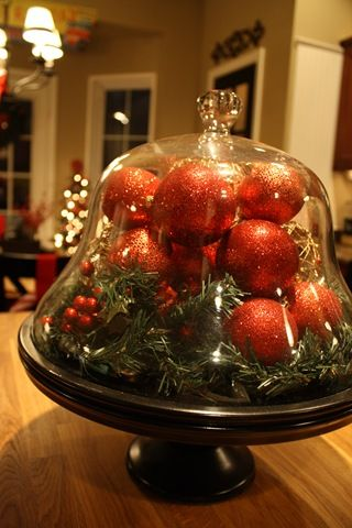 Love this idea for a cloche as I have recently started collecting them and apothocary jars.