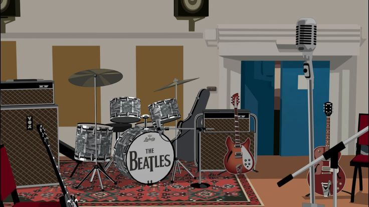 ABBEY ROAD virtual studio 2 - The Beatles recreation - (official alvar0rtega) - YouTube