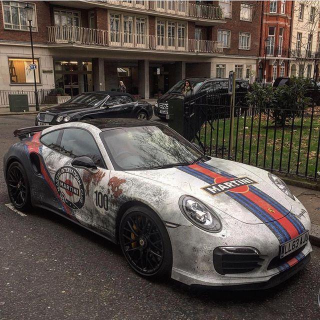 Unique Rust Porsche 911 Turbo