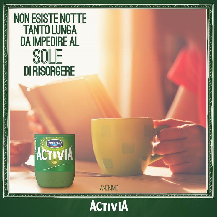 Con un risveglio così ogni mattino è un buon mattino! #Activia