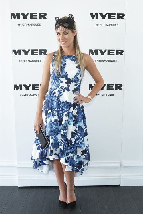 Rebeccah Panozza at melbourne cup day 2014