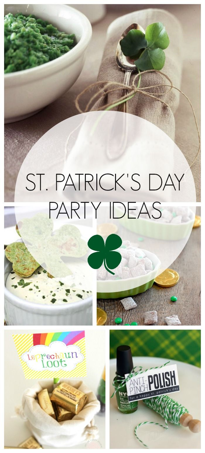 St. Patrick's Day Party Ideas via Design Dining + Diapers #stpatricksday #partyideas