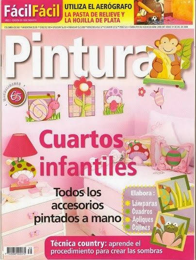 9 best revista decoraci n cuartos infantiles images on for Pinturas para cuartos