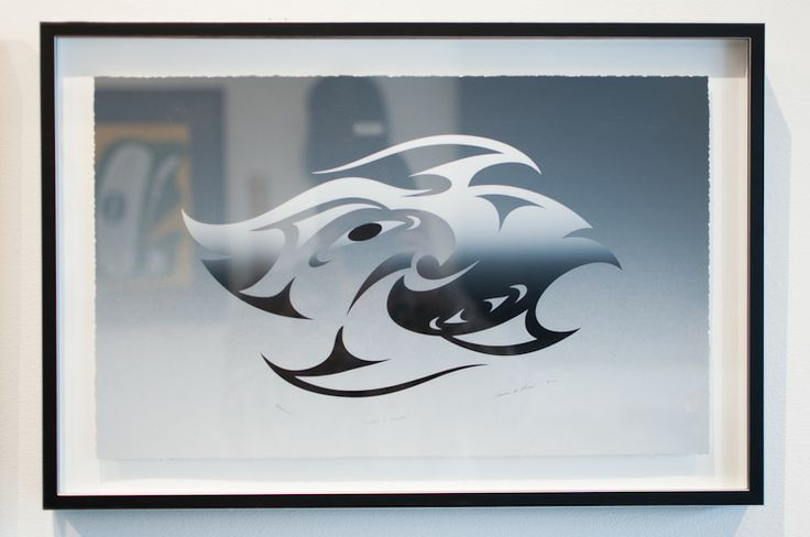 Corps A Corps Giclee print by Salish Musqueam artist Susan Point