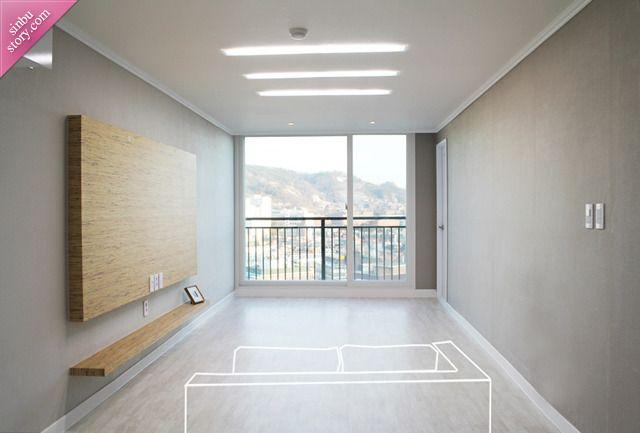 신혼집 꾸미기 : 아파트 18평-24평 실용적인 거실 공간 만들기 ...