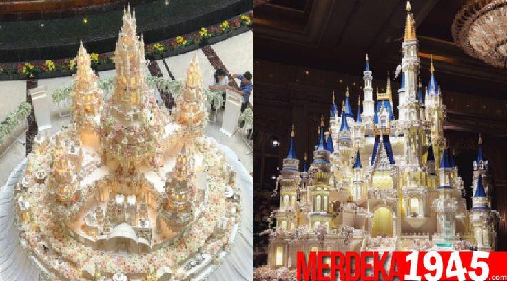 Kue pengantin kreasi toko roti LeNovelle Cake berhasil menghebohkan netizen dunia. Bagaimana tidak, toko roti asal Jakarta, Indonesia ini sanggup menghadir