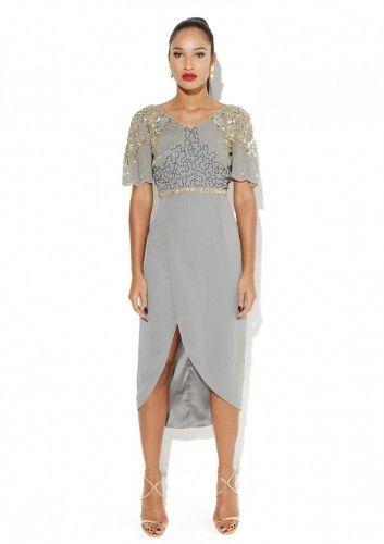 Reena Grey Dress
