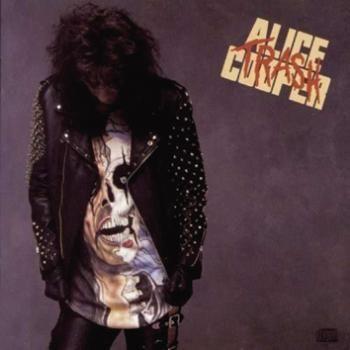 """L'album di #AliceCooper intitolato """"Trash""""."""