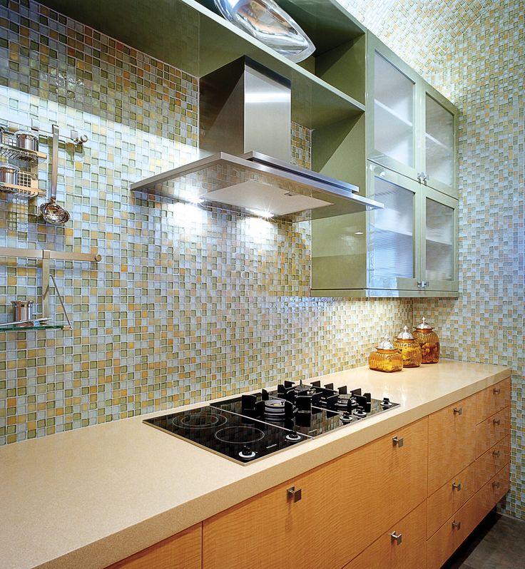 Glass Tiles For Kitchen: 1000+ Images About Kitchen Backsplash Ceramic Tile On