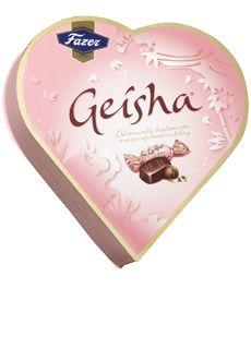 Delicious chocolates, fabulous appearance - need we say more about the charms of Geisha Heart.  It is simply an irresistable present for Valentine´s Day or whenever you want to delight someone special.