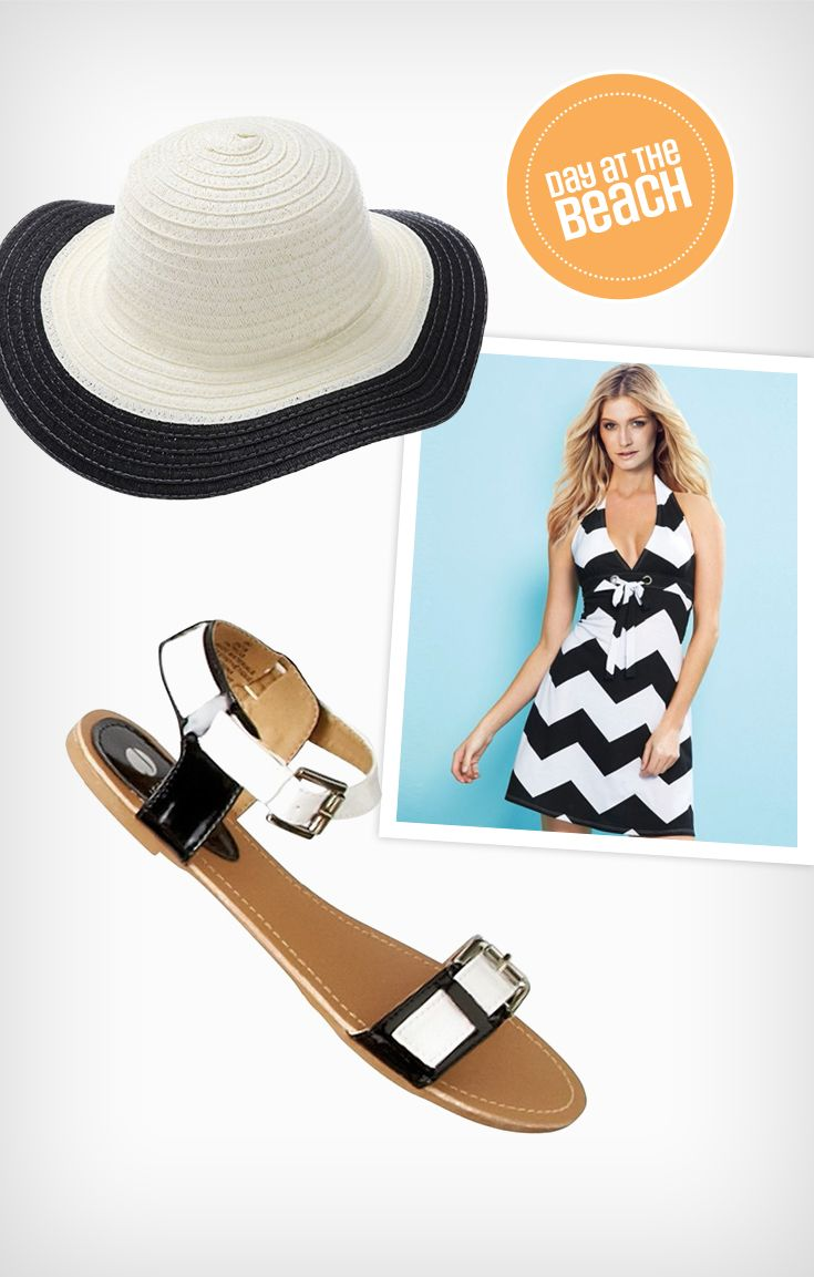 Beat the heat with a floppy hat