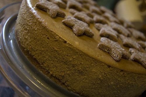 gingerbread cheesecake, yes! | food to make | Pinterest