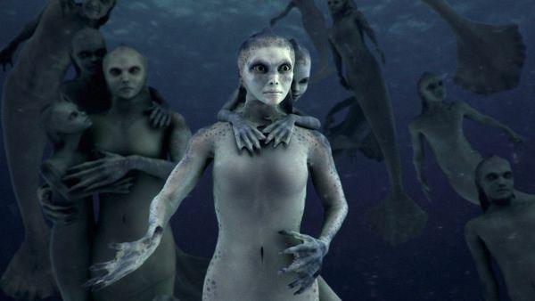 Escena del programa Mermaids The Body Found de Animal Planet/Bing (¿Existieron las sirenas? Show de televisión aviva el debate. Un programa de Animal Planet siembra la confusión, aviva la controversia y obliga al gobierno de EEUU a pronunciarse.)